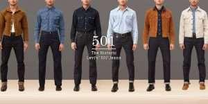 історія джинсів Levi's